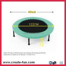 CreateFun 48 inch indoor small jump bed trampoline