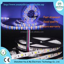 Super Bright 5050 SMD RGBWW Non waterproof RGB white led strip 60leds/m DC12V IP20 CRI 80 LED flexible strip RGBW