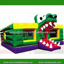 Guangzhou inflatable animal jump bouncer/inflatable kids air jumper
