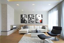 home decor pure hand modern canvas art oil painting ZZ-1386