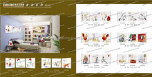Funny animal cat and dog picture wall hanging wholesale glass wall painting picture best selling glass wall canvas painting