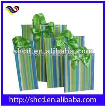 2015 hot sales Gift cute custom Christmas Paper handbag