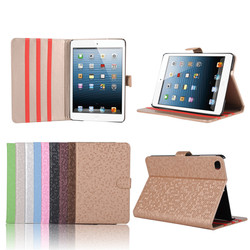 Factory Price Football Pattern PU Leather Case for iPad Mini 4, For iPad Mini 4 Case