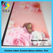 Motorcycle colorful stickers/clear epoxy stickers