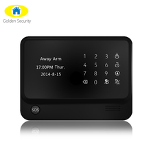 2015 Android IOS APP wifi network GSM GPRS wireless home alarm & GSM burglar alarm G90B security for house