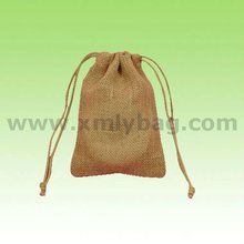 Nature Color Drawstring Jute Bag