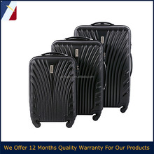 20''/24''/28'' ABS hotel lightweight telescopic handle for suitcase travel trolley luggage in Russia,USA,EURO