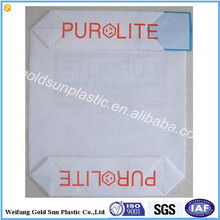 Custom printing valve bag/25kg polyethylene bag