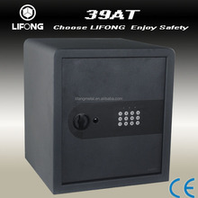 2015 new design cheap electronic safe,free standing safe,office safe with flat digital keypad