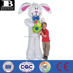 China manufacturer inflatable jumbo easter bunny plastic inflatable bunny toy easter bunny soft toys