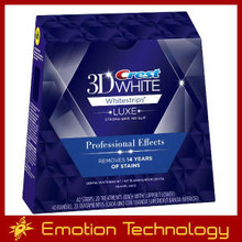 Crest 3D White Luxe Whitestrips Professional Effects White Teeth Whitening 1 box 20 pouches 40 strips crest whitestrips
