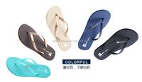 alibaba website design eco friendly material solid color flip-flops
