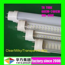 Factory lighting UL CE ROHS 2ft 3ft 4ft 5ft 6ft 8ft 2835 SMD T8 LED Tube light