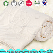 factory wholesale wool filled comforter/australian wool quilt/sheep wool quilt