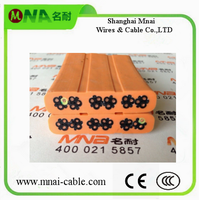 Flexible PVC Flat/Round cable for elevator Indonesia Hotselling