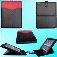 New Assorted Designs Leather Stylish Tablet Waterproof Case For iPad 2/3/4