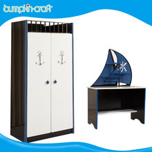 Hongkong Bumpkincraft modern new kids child bedroom furniture wardrobe door laminate design