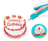 Hot sales portable cake mental decorating pen