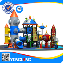2015bright color new style playground slides,dream sky series playground,cheapest children playground for sales