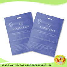 Hot Sales Thank You Handle Carrier Plastic Bags For Us Supermarket,