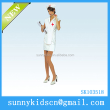 2014 HOT selling Halloween costume nurse costume sexy costume free Halloween contacts Halloween decoration