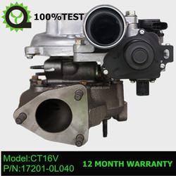 electric turbocharger for toyota land cruiser 1kd turbo 17201-0l040
