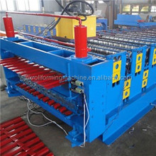 Engineers available to service machinery overseas After-sales Service Provided and New Condition step tile roll forming machine