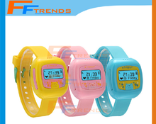 For iOS and Android Bluetooth Bracelet, Led Children Watch Phone, Wireless Mobile Phone With Sos Sim Gps