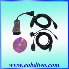 2015 hot sale Lexia3 PP2000 V48 full set 5cables with 30pin cable citroen peugeot in high quality