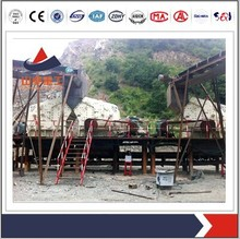 Capable 200-250 TPH Stone gravels crushing plant with full size group mining crushing palnt/crushing plant for sale