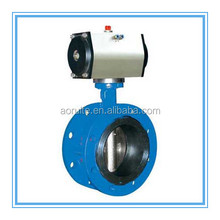 D641X-10/16 Pneumatic Actuated Flange Butterfly Valve