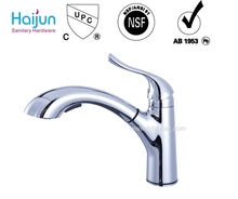 Top Hot sale Single Handle Brass Kitchen Sink Faucet with cUPC (82H22-CHR-N)