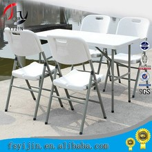 Wholesale factory directly plastic folding table and chair