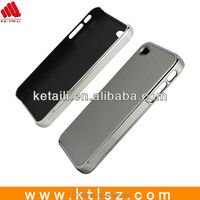 Customized metal cover high quality phone cover for iphone 5 welcome OEM
