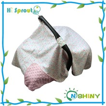 90*114cm Minky Blanket Infant Carseat Cover Wholesale