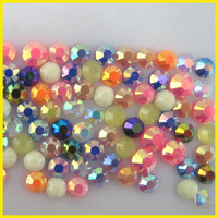 Bling Bling Hot Fix Acrylic Resin Stone For Clothing