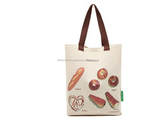 2015 hot sell canvas cotton shopping bags with logo /recycle bag