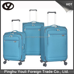 Polyester material fashional carry-on luggage