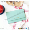 New Fashion High Quality Personal Soft Faux Leather Trifold Notebook