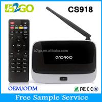 Kodi Pre-installed CS918 Q7 RK3188 Quad Core Android 4.4 Smart TV Box 1080P 2GB RAM with Rii i8 Wireless keyboard