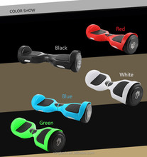 Hot sales 2 wheel electric scooter self balancing with LED light and Max Speed 12km/h scooter electric hands free scooter