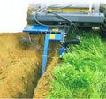 Fazenda cultivador tipo escavadeira trator Skid de aço carregador escavação trencher