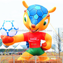 2014 Inflatable the world cup mascot costume
