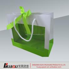 Recycled Brown Paper Bag with Handle/Brown Kraft Paper Bag