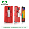 Various mobile phone 2 in 1 dual layer case with clip 10 colors Anti-throw cases cover for Samsung galaxy note 3