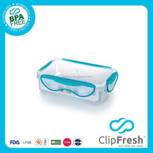 Clip Fresh FDA Plastic Airtight Food Container with Locks 900ml