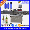 Automatic botella labeler,full auto flask bottle labeler