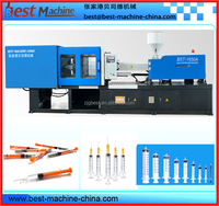 plastic high quality disposable syringe making injection machine on sale
