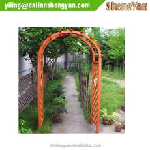 Modern Garden Decorative Outdoor Garden Arch , Wood Pergola