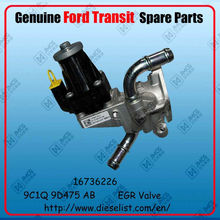 Genuine Transit V348 spare parts 9C1Q 9D475 AB EGR Valve Finish:1673226